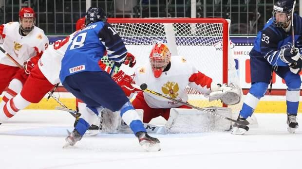 Америка выжала из России все силы. После волевой победы над хозяевами ЮЧМ наши за 69 секунд отдали матч финнам