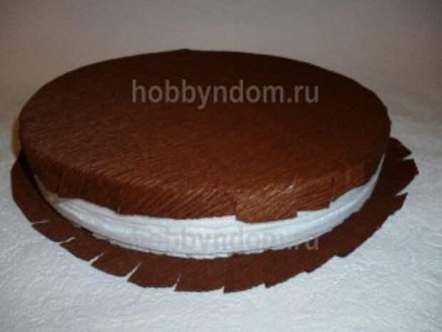 рог изобилия из конфет (25)