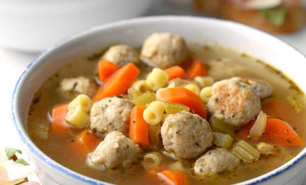 Супы с фрикадельками: берем кастрюлю бульона и делаем 7 вкусов