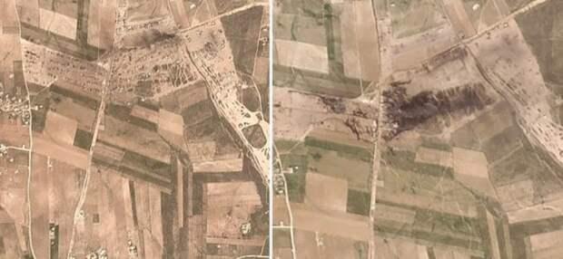 Сотни бензовозов одним ударом в Сирии: российские ракеты пришли с моря?