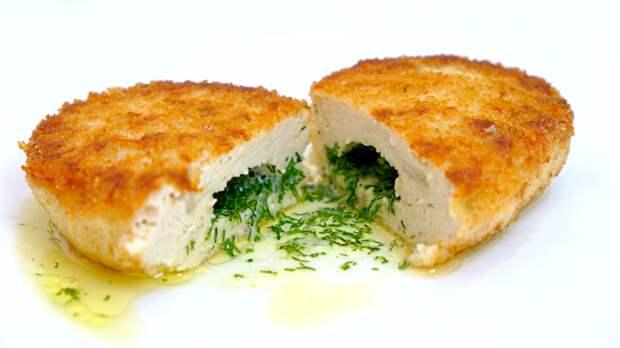Куриные котлеты с секретом - Простой вкусный рецепт из куриного филе