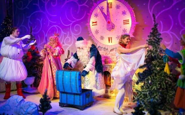 Кукольный театр из Ставрополя представит спектакль «Мороз Иванович» на площадке фестиваля «Путешествие в Рождество» в САО