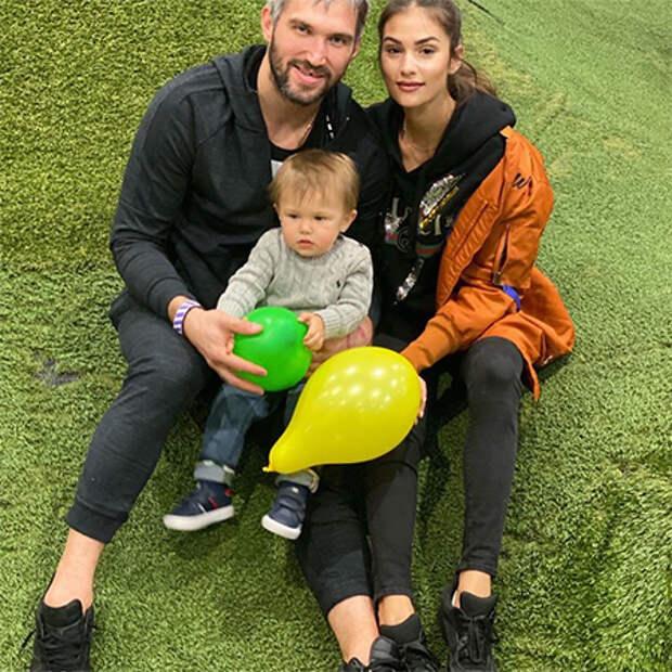 Александр Овечкин и Настасия Шубская поделились фотографиями старшего сына по случаю его дня рождения