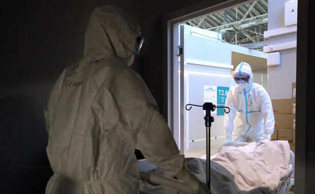 В России второй день подряд выявили менее 13 тыс. заболевших COVID-19