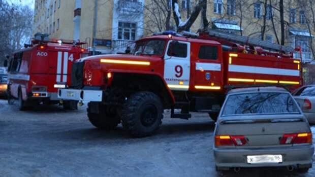 Спасатели ликвидировали пожар на пилораме в Екатеринбурге