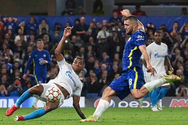 Зенит проиграл Челси в стартовом матче Лиги чемпионов в Лондоне