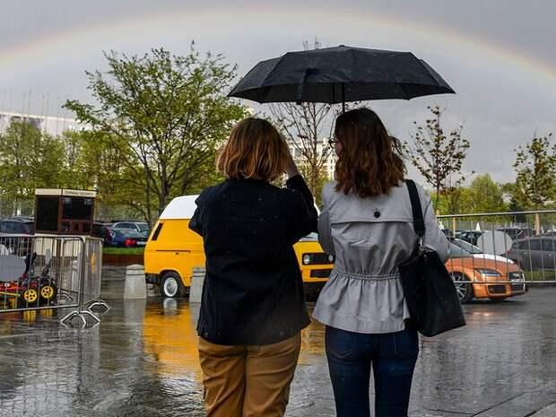 За первую половину мая в Москве выпал 61 мм осадков