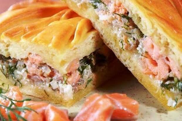 Как правильно приготовить вкусный пирог с РЫБОЙ «САХАЛИНСКИЙ»