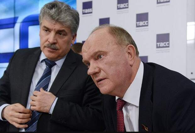 Зюганов намерен дойти до ЕСПЧ из-за скандала с Грудининым