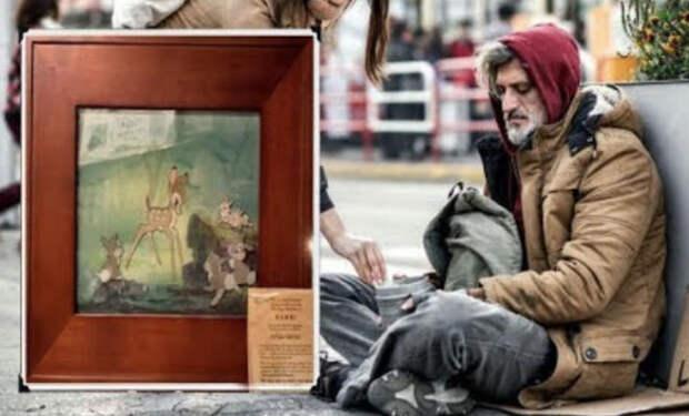 Бездомного с картиной обсмеяли все антиквары. Но один рискнул купить и разбогател