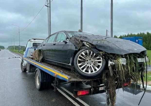BMW после аварии