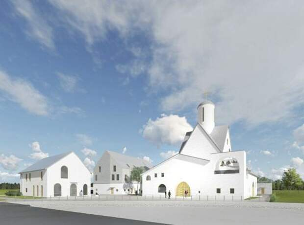 В храмовый комплекс войдет церковь на 750 прихожан/ mos.ru