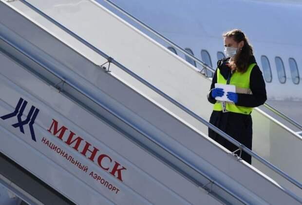 В Минске из-за сообщения о теракте приостановили посадку на рейс Lufthansa