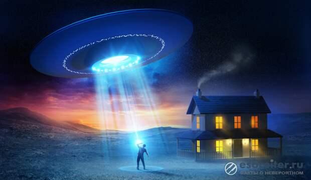 После встречи с НЛО британец опасается, что его похитят пришельцы