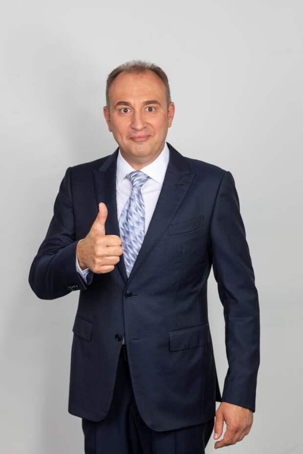 Святослав Ещенко — частый гость в школе на Ходынском бульваре
