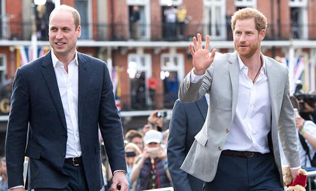 СМИ: принц Гарри и принц Уильям выступят отдельно на открытии памятника принцессе Диане