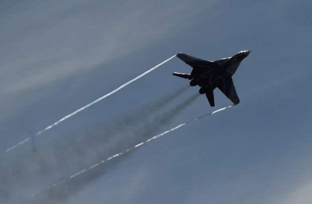 В Сирии засветился уникальный МиГ-29 «пятого поколения»