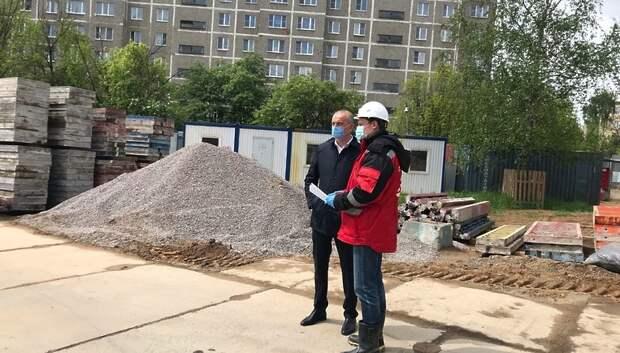 Генподрядчик увеличит количество строителей для возведения школы в Подольске