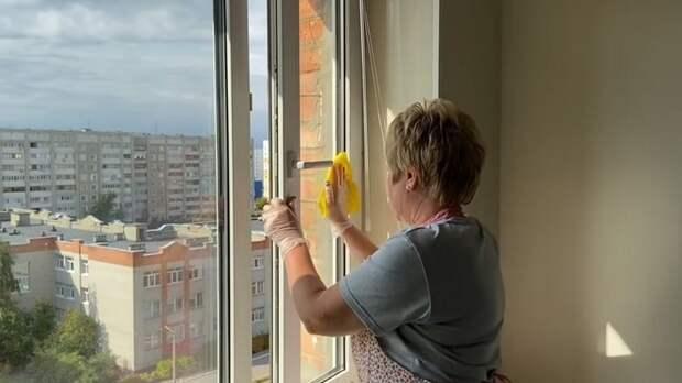 Моем окна и полы секретным способом. Ни пыли, ни грязи долгое время