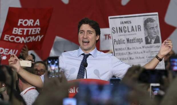 Либералы победили на выборах в Канаде, но не завоевали большинство