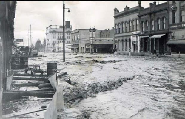 Наводнение в Китае, 1931.