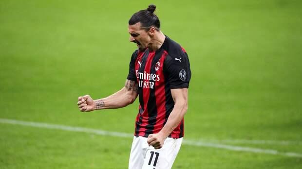 Ибрагимович выступит в роли мотиватора «Милана» перед заключительным матчем сезона с «Аталантой»