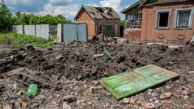 Два человека ранены в Славянске снарядом, попавшим в больницу