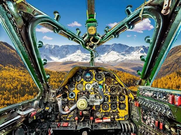✈️ 6 необычных фото советских самолетов изнутри