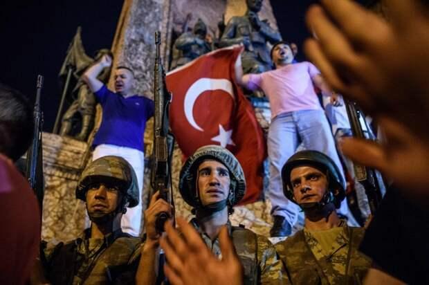 Военный переворот в Стамбуле