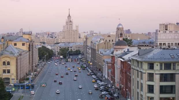 """Циклон """"Дирк"""" принесет в Москву похолодание и сильные ливни"""