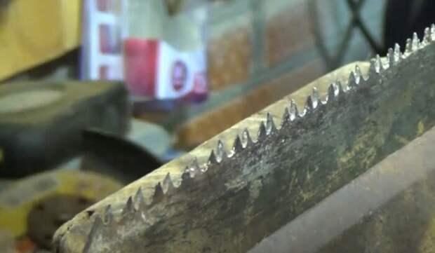 Как правильно заточить ножовку по дереву и развести зубья