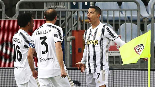 Хет-трик Роналду принес «Ювентусу» победу над «Кальяри»