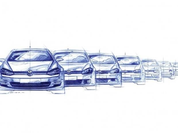 Новый VW Golf появится в 2018-м с эволюционными изменениями