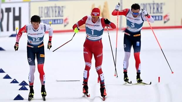 Клэбо лишен победы в марафоне на ЧМ, Большунов стал серебряным призером