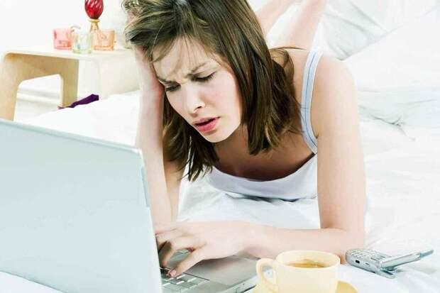 Дома разруха, голодные дети, мама часами сидит в интернете