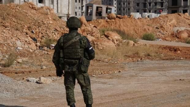 Российские военные объяснили блокировку колонны США в сирийской Хасаке