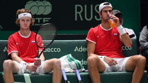 Рублев и Хачанов снялись с парного турнира в Майами