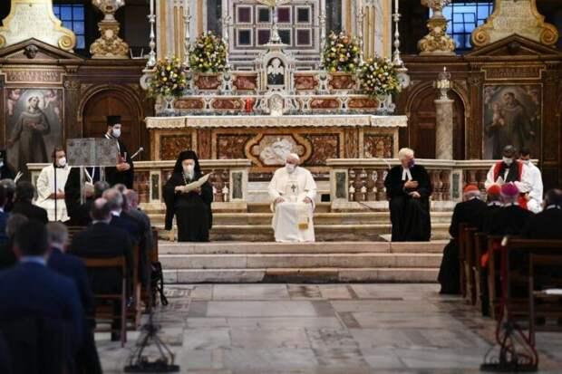 Контуры новой унии Фанара и Ватикана приобретают чёткие очертания
