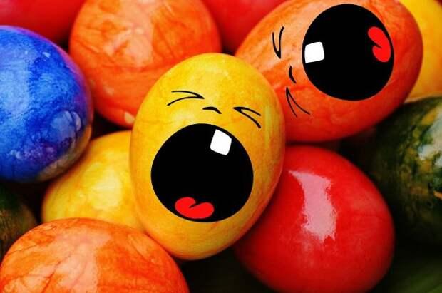 Эксперт рассказал, как безопасно покрасить яйца на Пасху