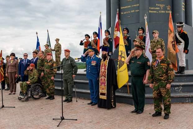 Военно-исторические сборы «Бородино-2021» стартовали на Бородинском поле