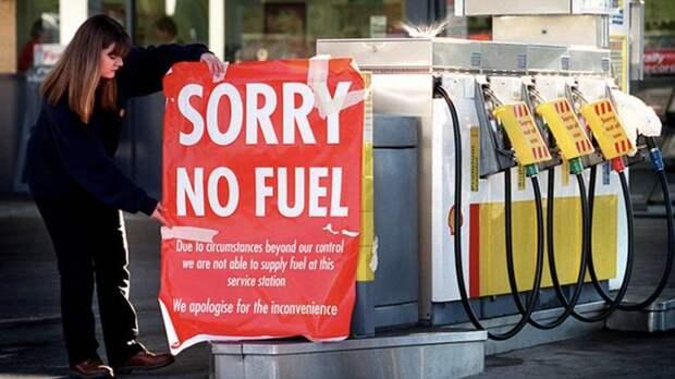 Паника и режим ЧС: на заправках США закончилось топливо