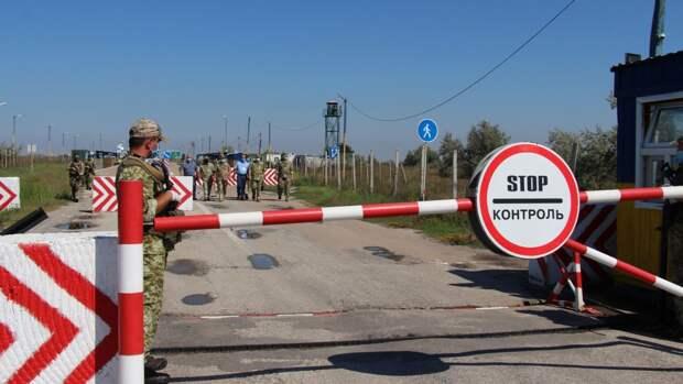Украинская сторона перекроет погранпереход с Белоруссией