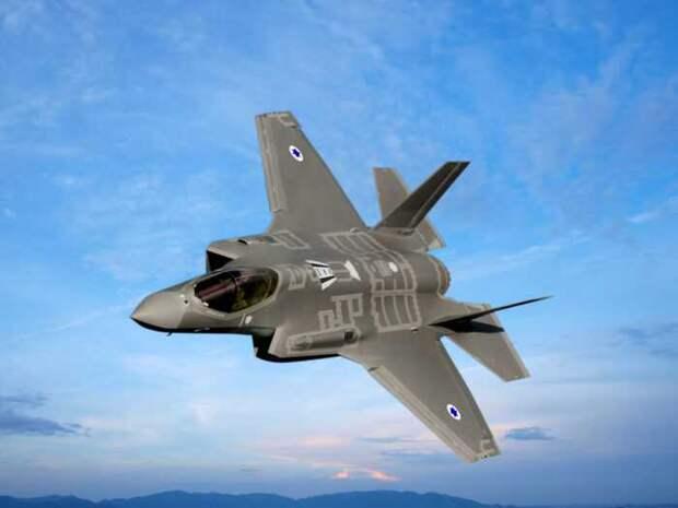Израильские F-35 впервые заметили над Ливаном у границы с Сирией