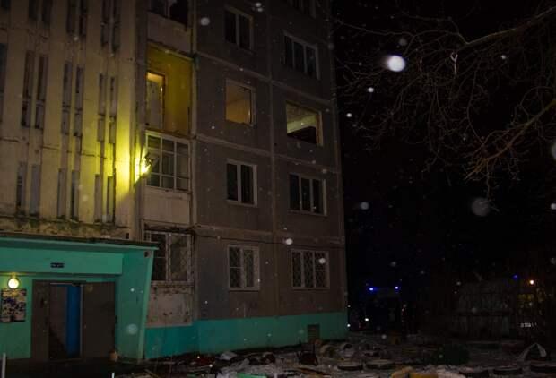 Хлопок газа в многоквартирном доме в Твери попал на видео
