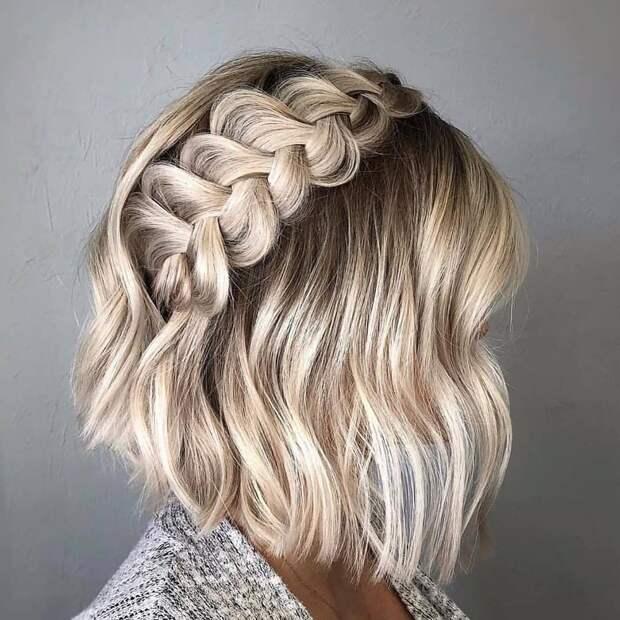 Как быстро уложить короткие волосы фото 26