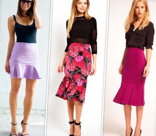 Что такое юбка Годе и с чём её носить