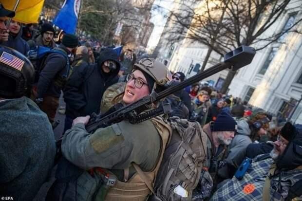 Юрий Селиванов: Гестаповская «демократия» Байдена
