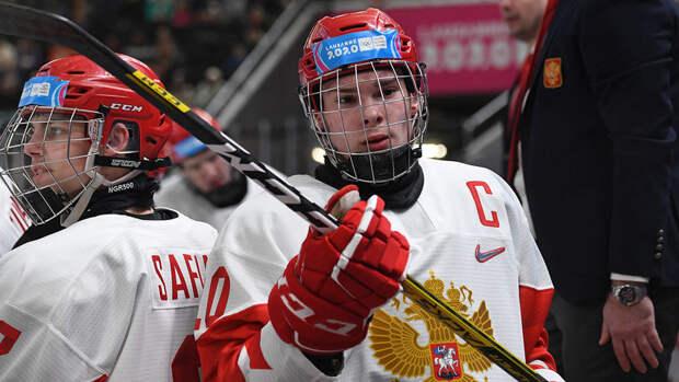 Мирошниченко стал лучших игроком дня юниорского чемпионата мира