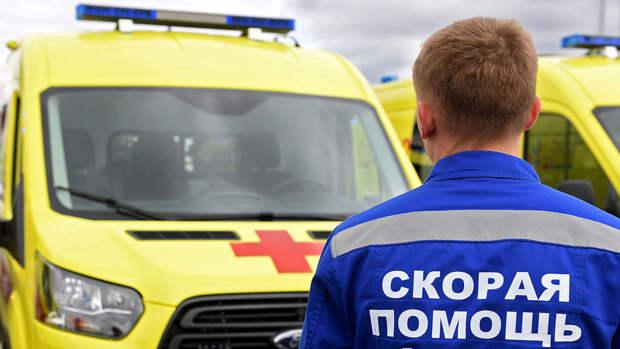 В Московской области военный попал под колеса грузовика
