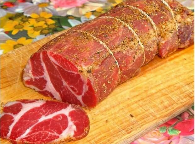 Хватит покупать сомнительную дорогую колбасу — сыровяленое чесночное мясо